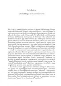 Charles Mingus. Introduzione
