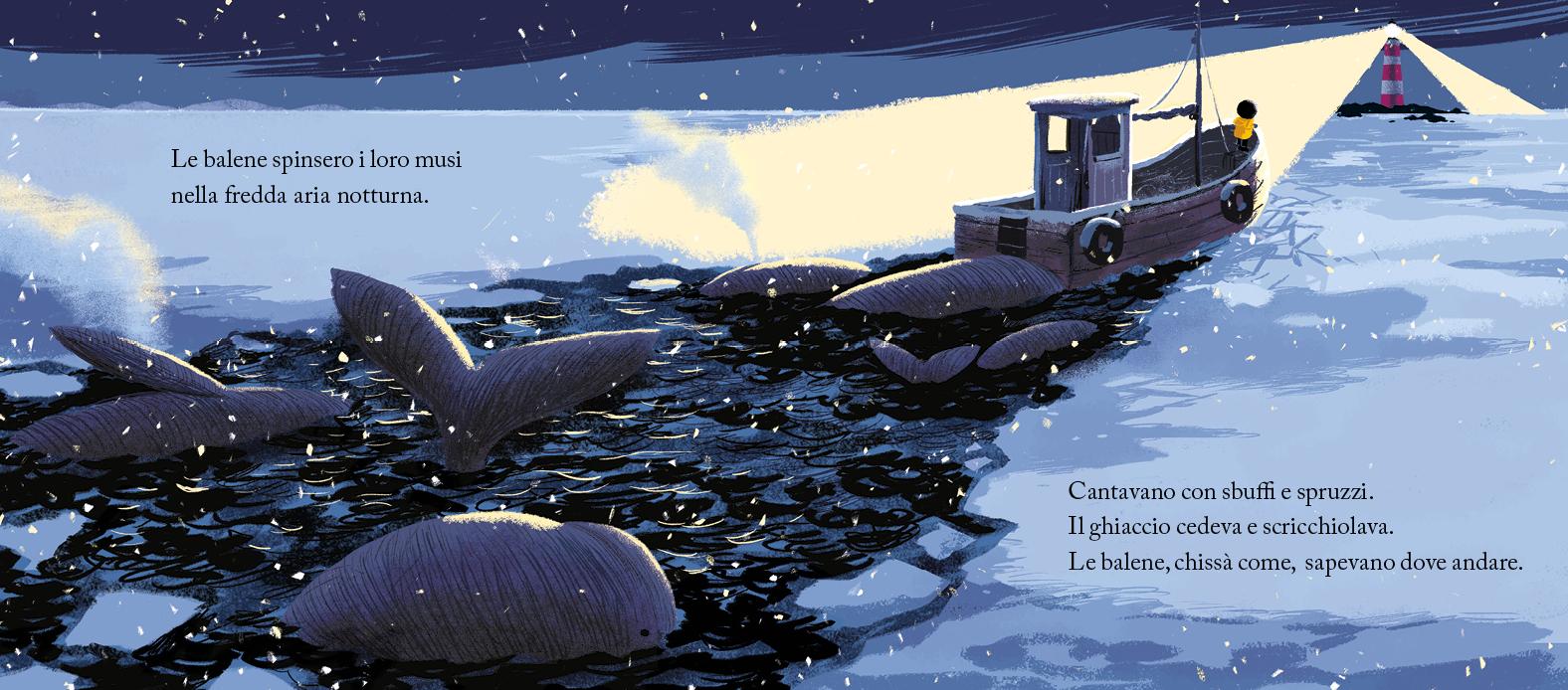 La Balena della Tempesta in Inverno
