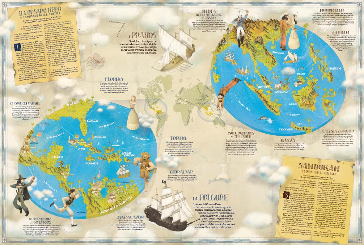 La mappa: fronte