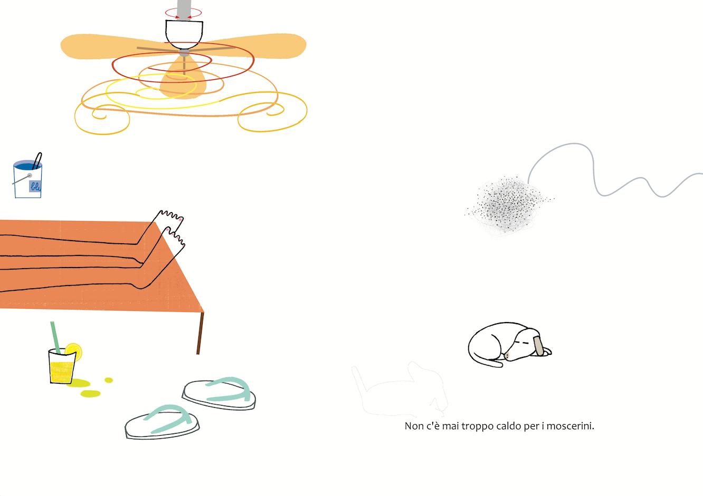 Perché i moscerini sono sempre felici?